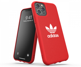 adidas OR Moulded Case CANVAS für iPhone 11 Pro Rot günstig kaufen