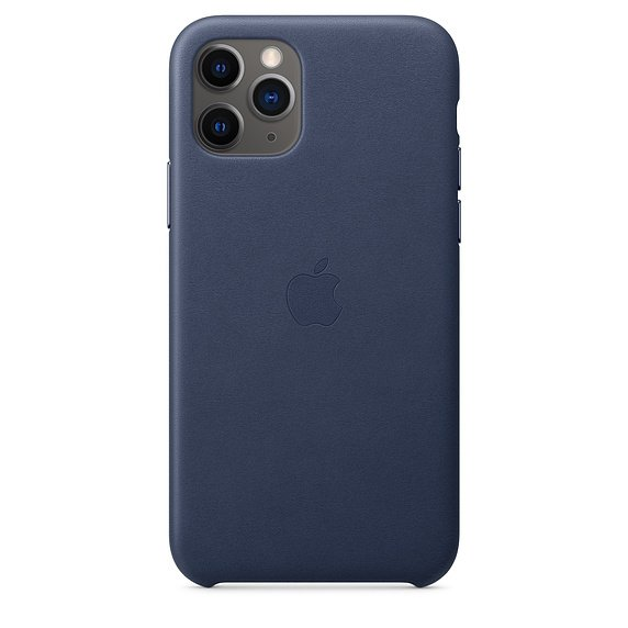 Apple iPhone 11 Pro Leder Case Blau günstig kaufen