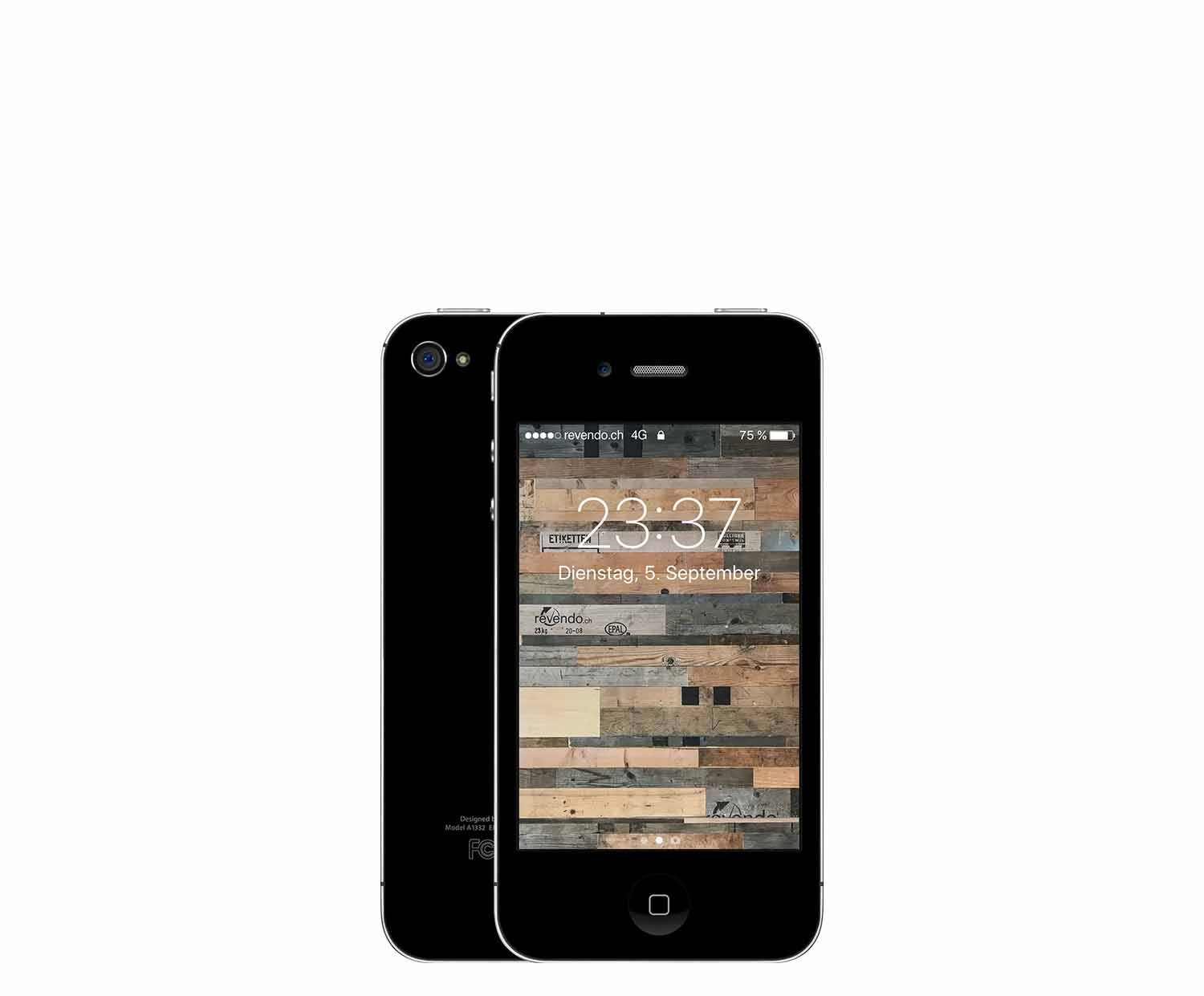 apple iphone 4 32 gb schwarz. Black Bedroom Furniture Sets. Home Design Ideas
