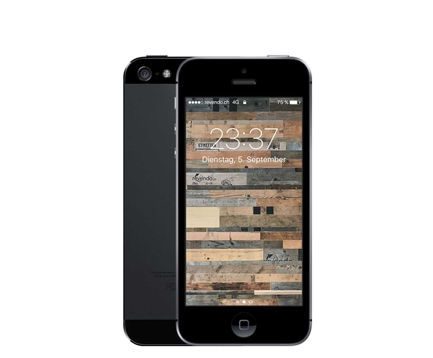 apple iphone 5 64 gb schwarz. Black Bedroom Furniture Sets. Home Design Ideas
