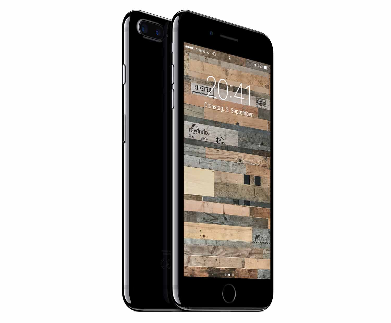 apple iphone 7 plus 256 gb diamantschwarz. Black Bedroom Furniture Sets. Home Design Ideas