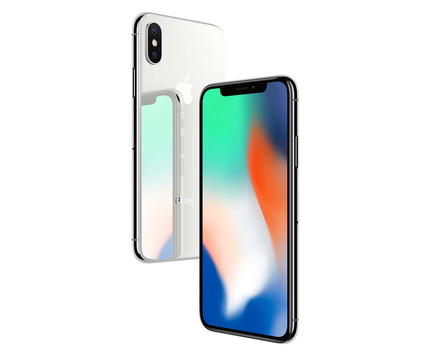 apple iphone x 64 gb silber. Black Bedroom Furniture Sets. Home Design Ideas