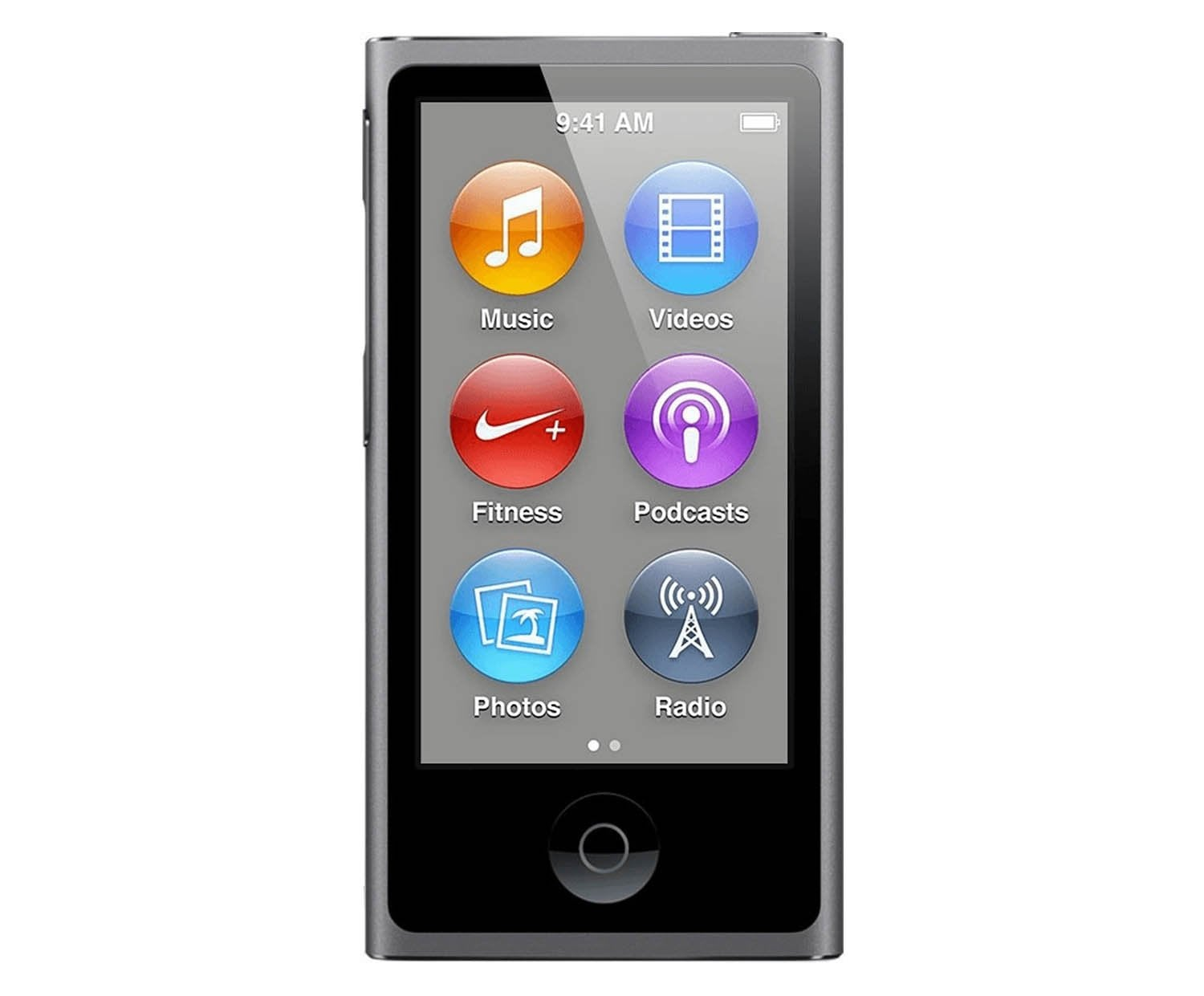 apple ipod nano 7 generation 16 gb space grau. Black Bedroom Furniture Sets. Home Design Ideas