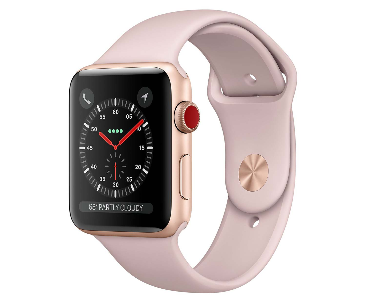apple watch series 3 gps cellular 38 mm aluminiumgeh use gold. Black Bedroom Furniture Sets. Home Design Ideas