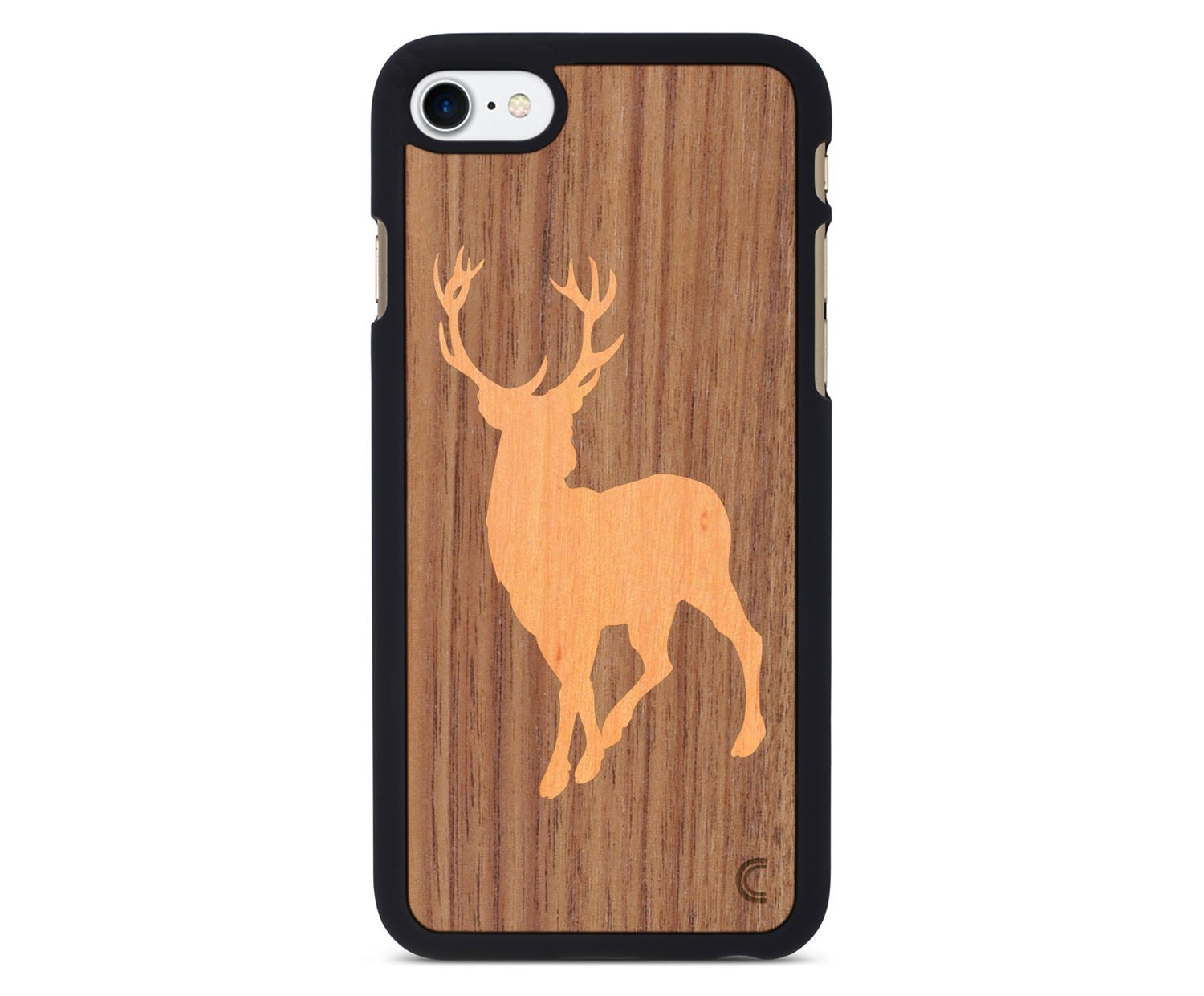 holz case f r iphone deer. Black Bedroom Furniture Sets. Home Design Ideas