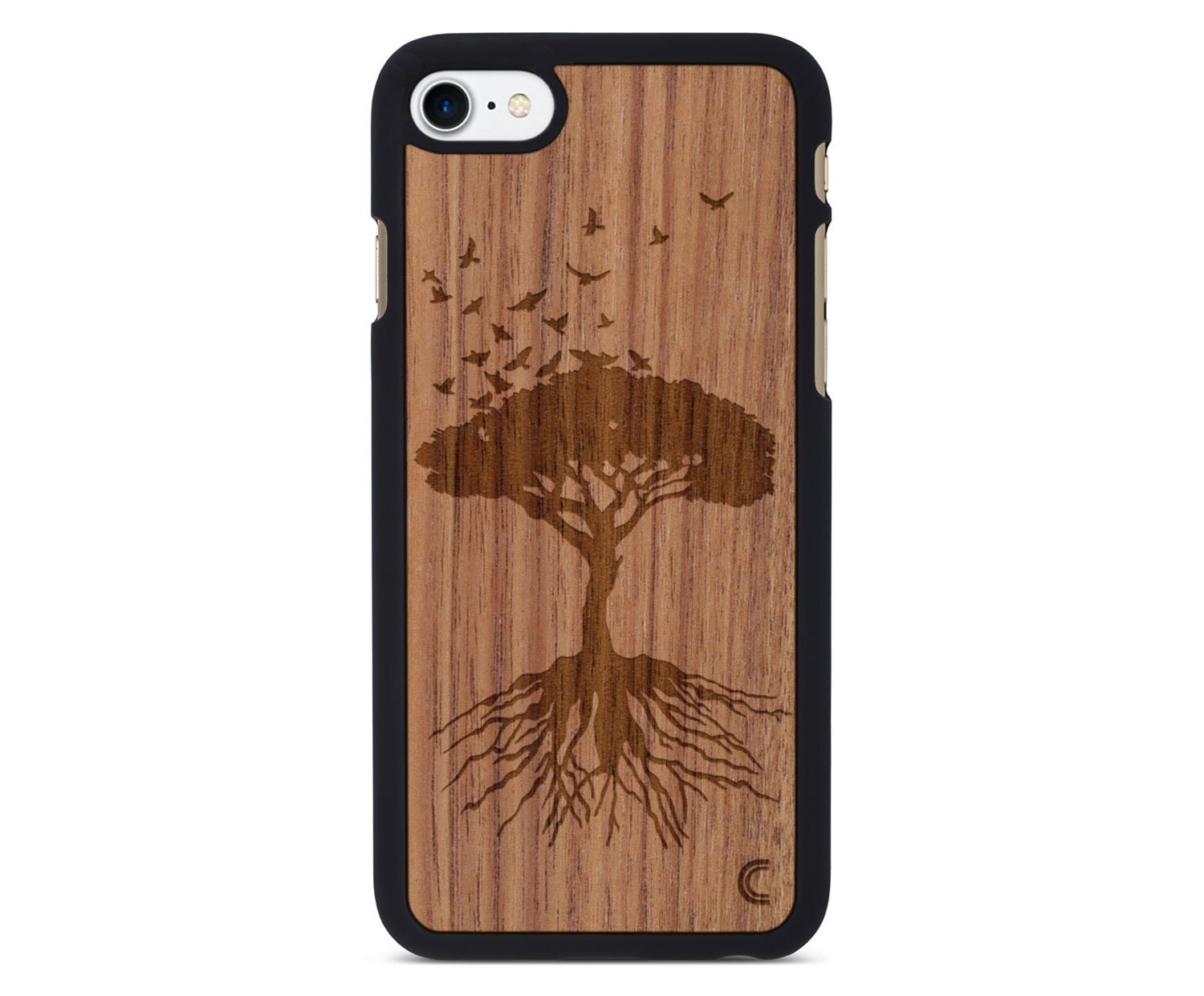 holz case f r iphone tree. Black Bedroom Furniture Sets. Home Design Ideas
