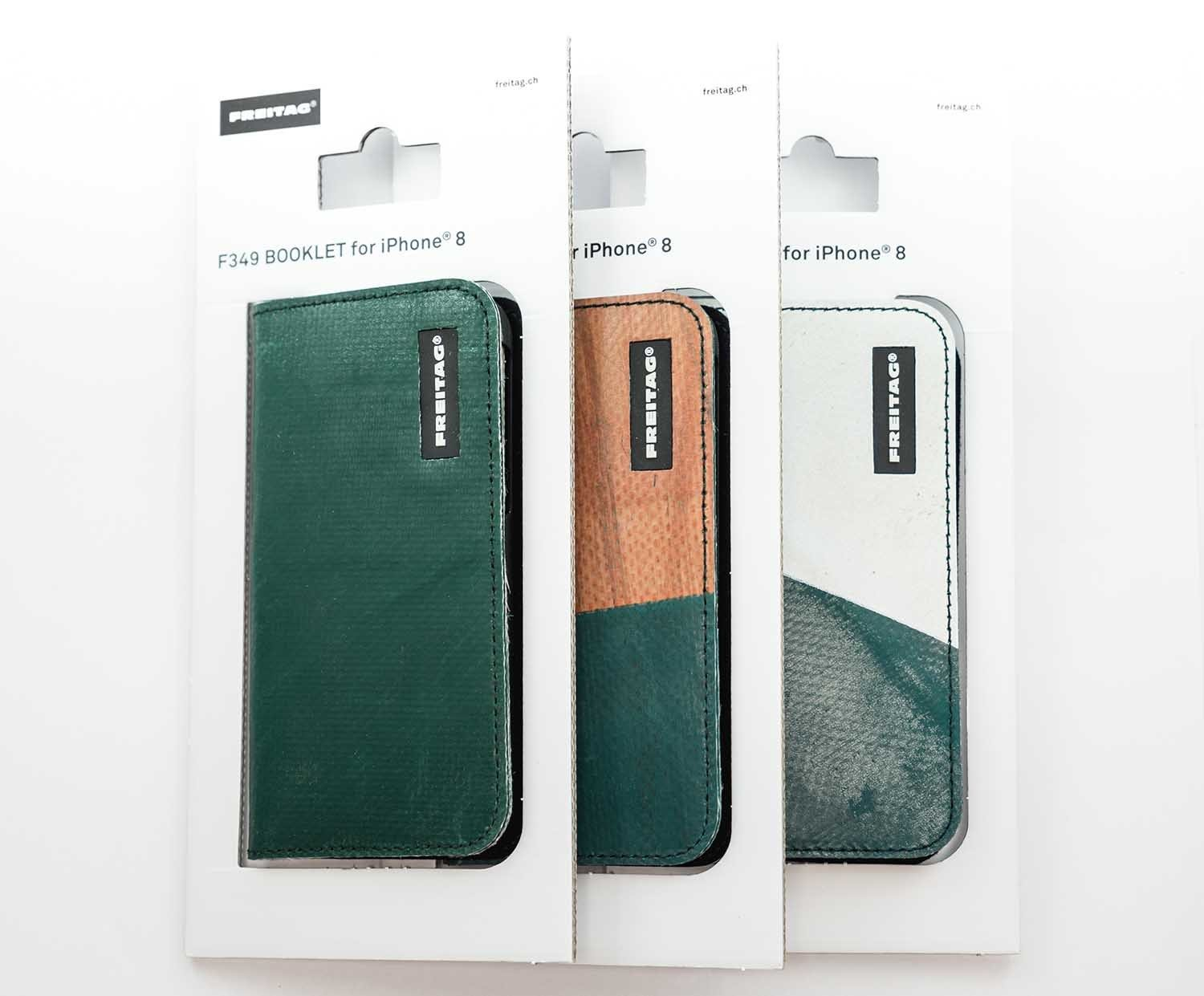 freitag f349 booklet iphone 6 6s 7 8 hunters green. Black Bedroom Furniture Sets. Home Design Ideas