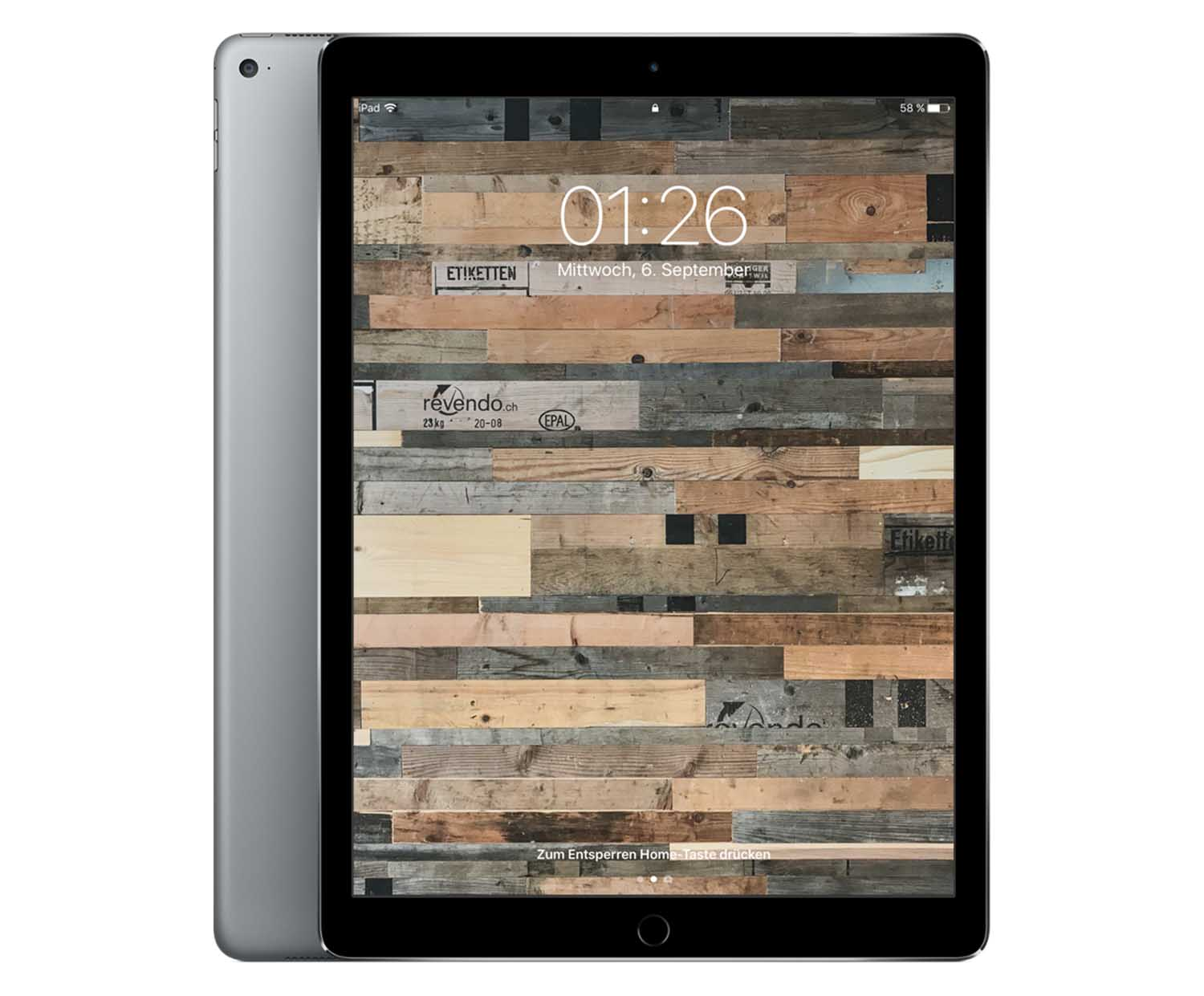 apple ipad pro 12 9 wi fi 128 gb space grau. Black Bedroom Furniture Sets. Home Design Ideas