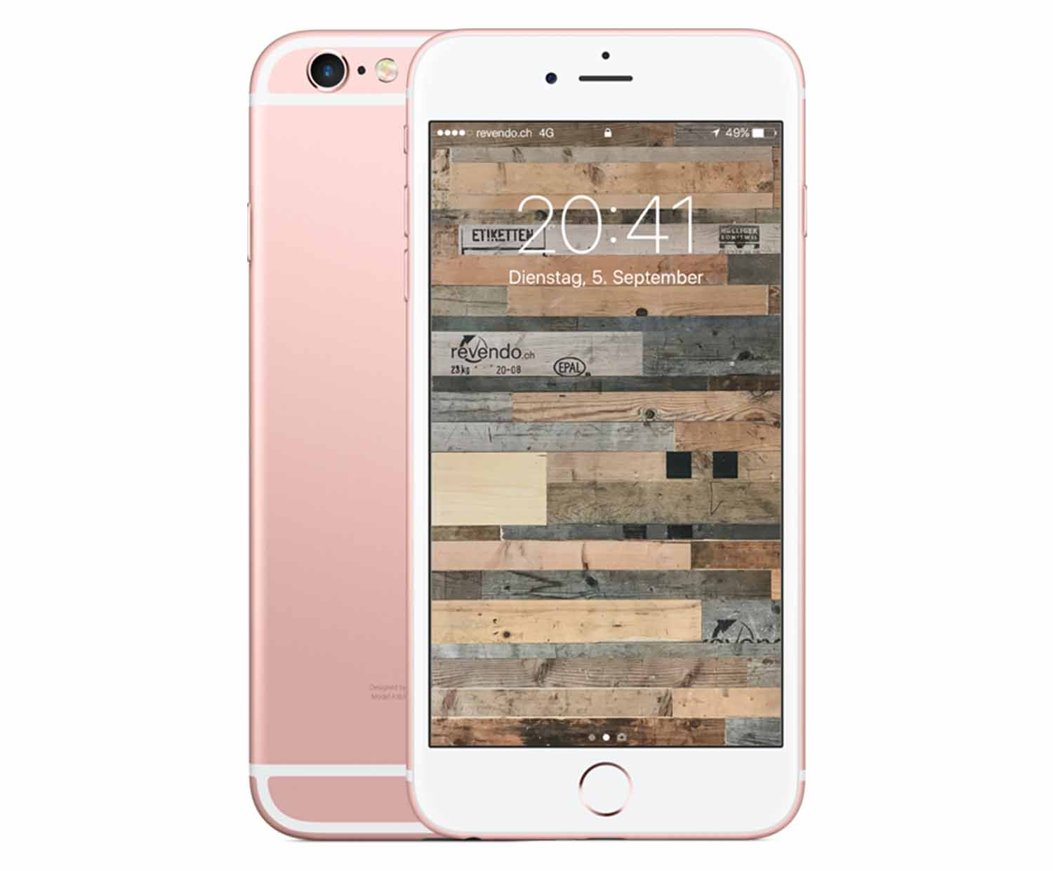apple iphone 6s plus 64 gb ros gold. Black Bedroom Furniture Sets. Home Design Ideas