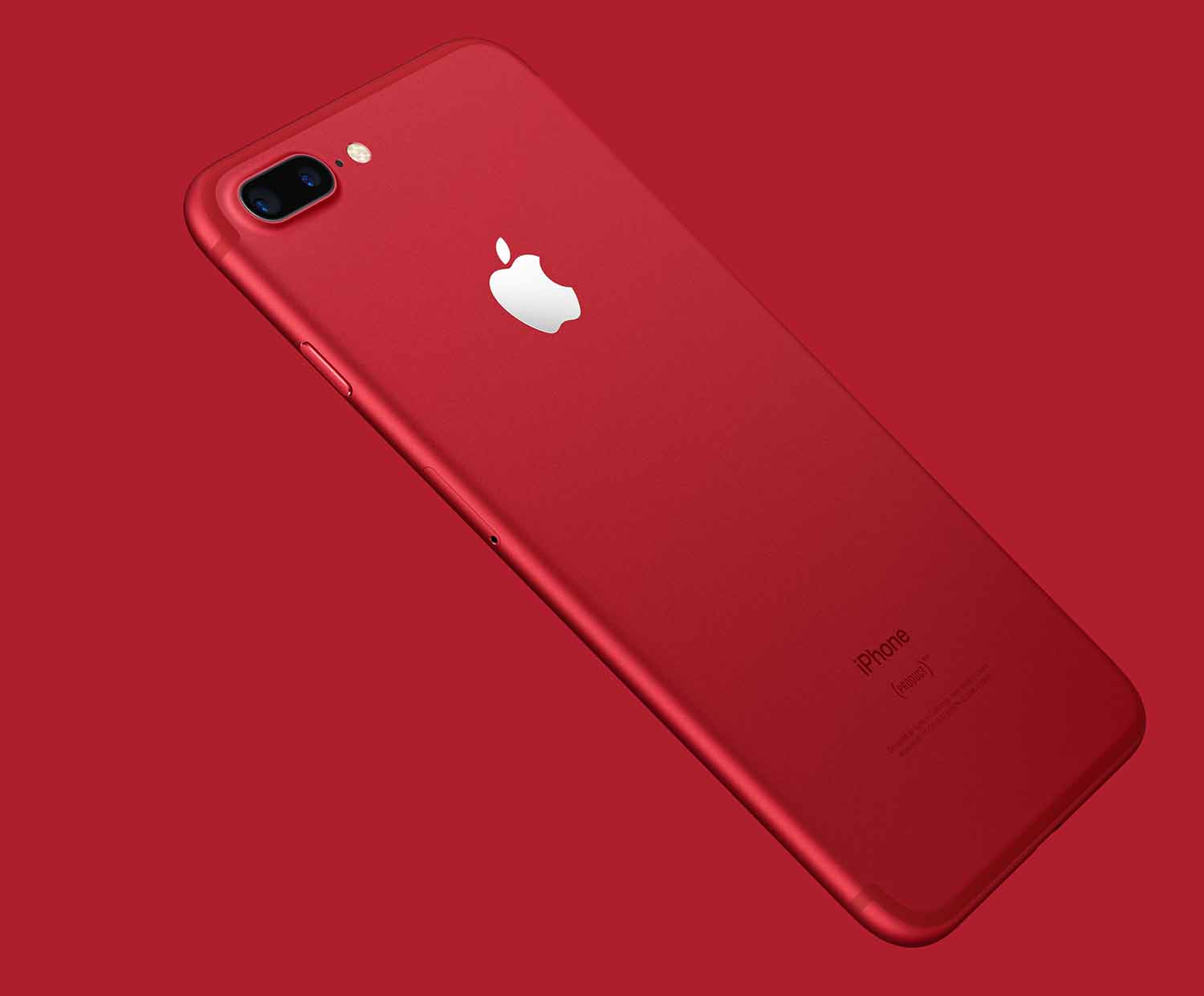 apple iphone 7 plus 128 gb product red. Black Bedroom Furniture Sets. Home Design Ideas