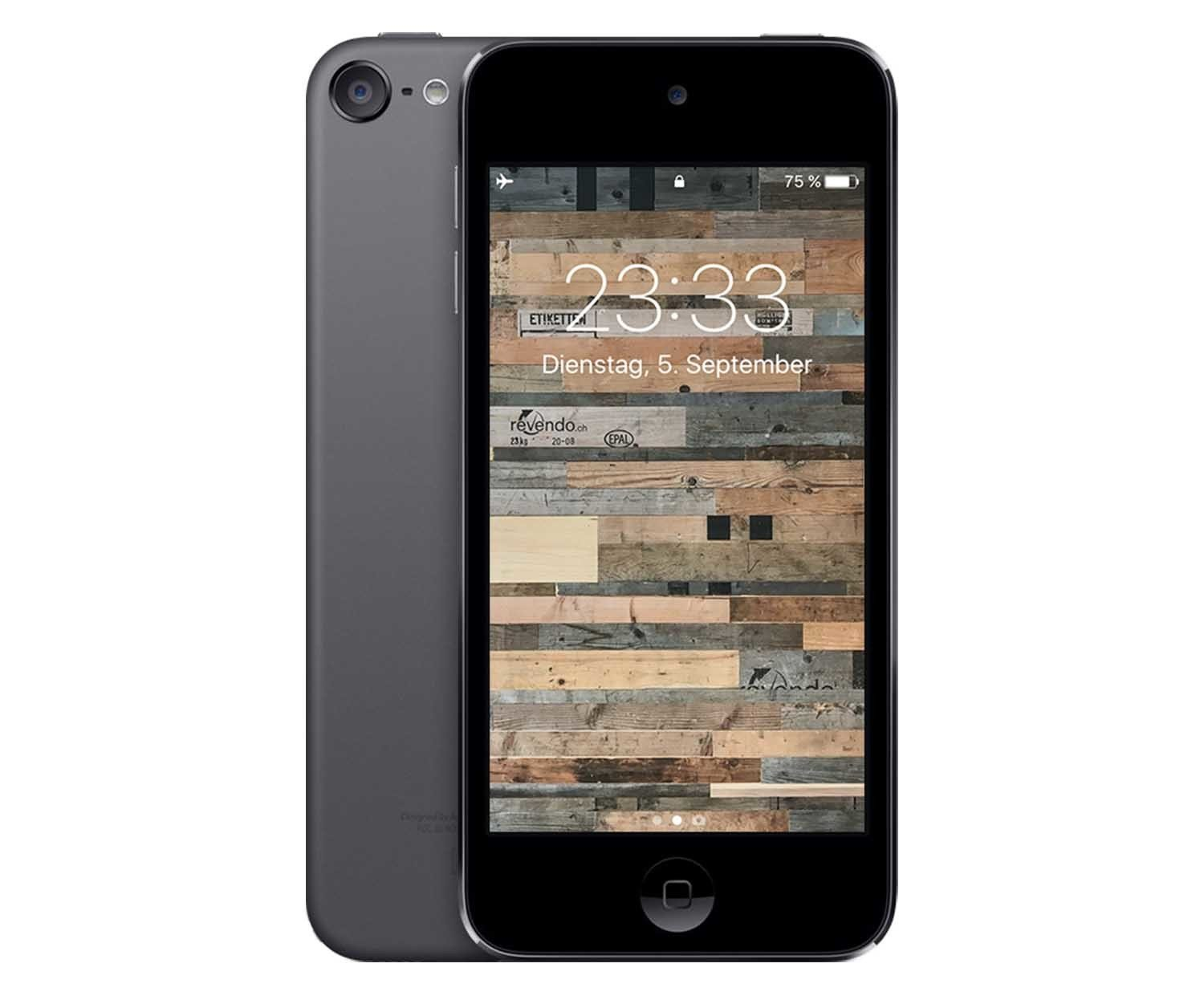 apple ipod touch 6 generation 128 gb space grau. Black Bedroom Furniture Sets. Home Design Ideas
