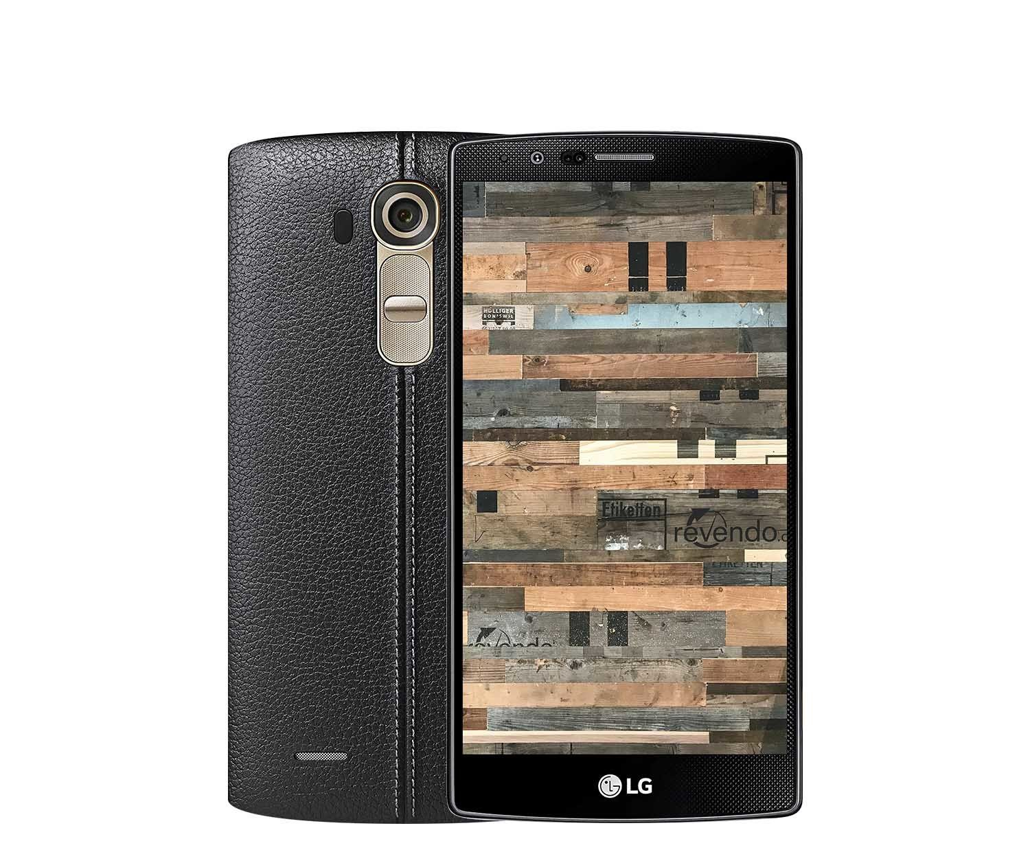 lg g4 32 gb leder schwarz. Black Bedroom Furniture Sets. Home Design Ideas