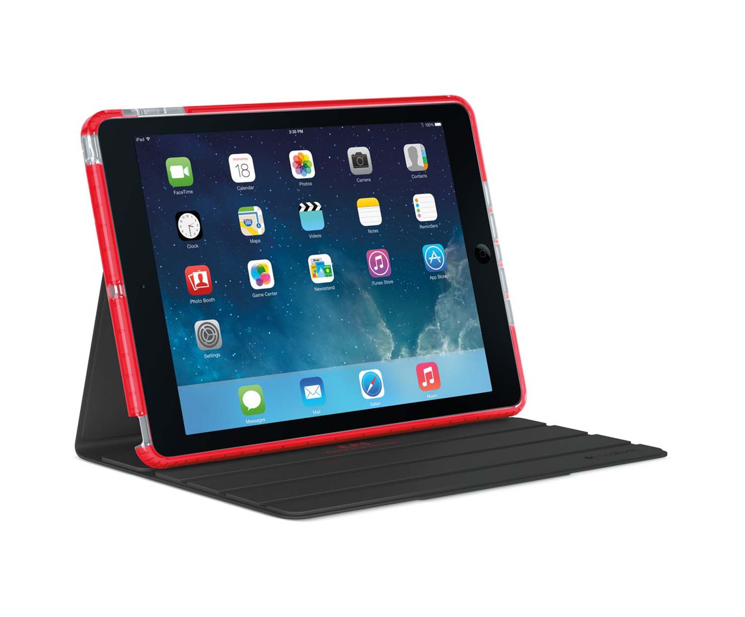 logitech bigbang f r ipad air 2017 18 rot. Black Bedroom Furniture Sets. Home Design Ideas
