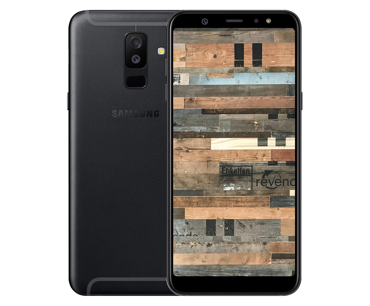 samsung galaxy a6 2018 dual sim 32 gb schwarz. Black Bedroom Furniture Sets. Home Design Ideas