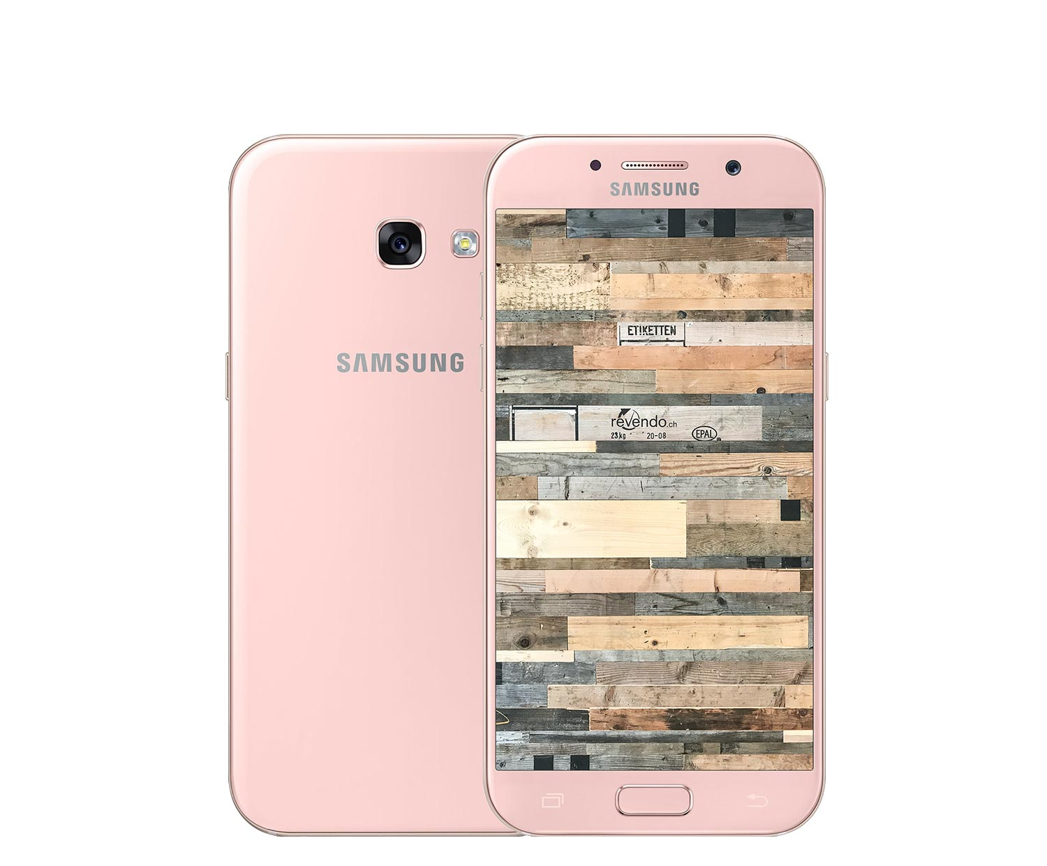 samsung galaxy a7 2017 duos 32 gb peach cloud. Black Bedroom Furniture Sets. Home Design Ideas