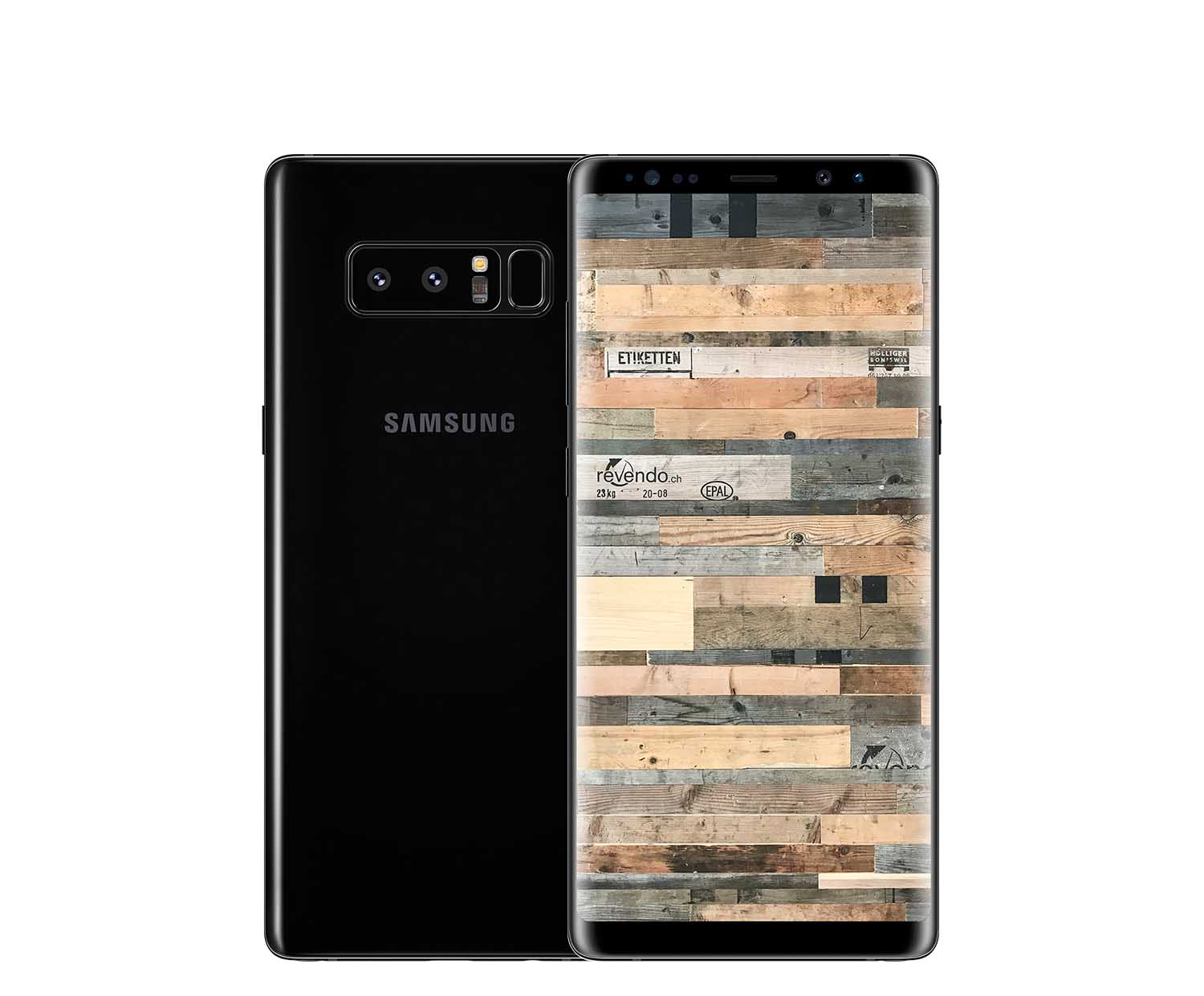 samsung galaxy note8 duos 64 gb midnight black. Black Bedroom Furniture Sets. Home Design Ideas