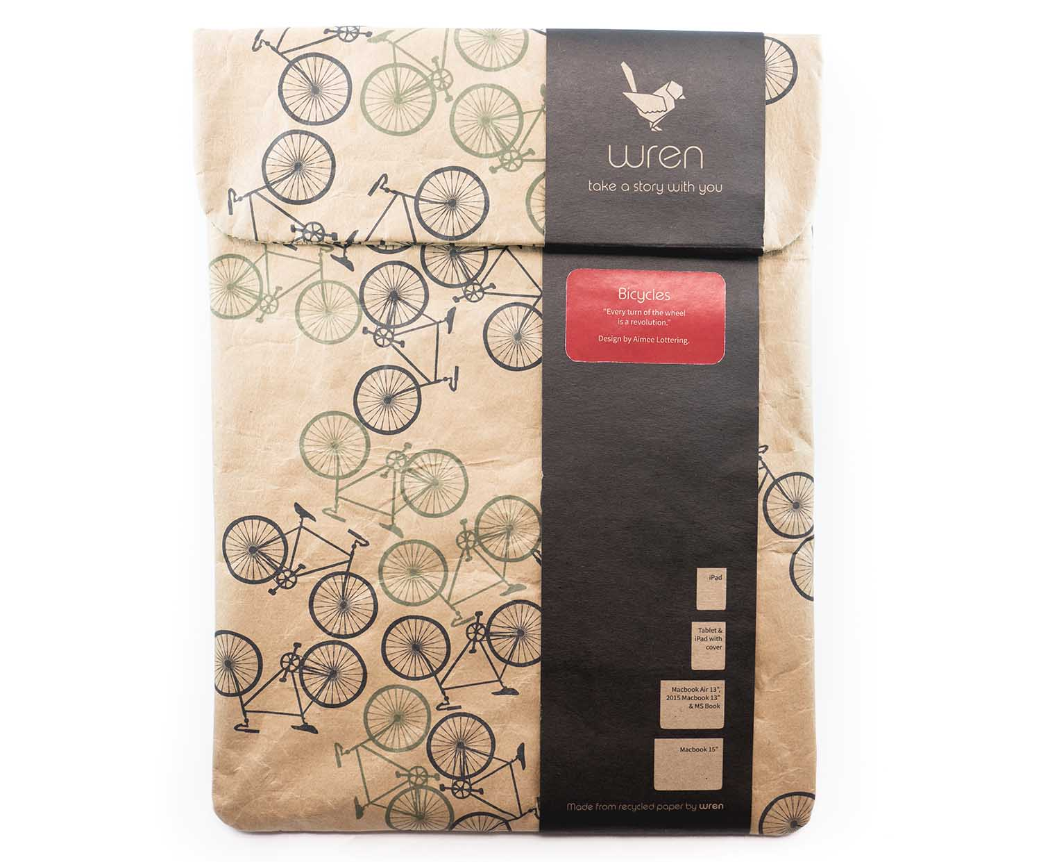 wren design zementsack sleeve forest bikes f r ipad. Black Bedroom Furniture Sets. Home Design Ideas