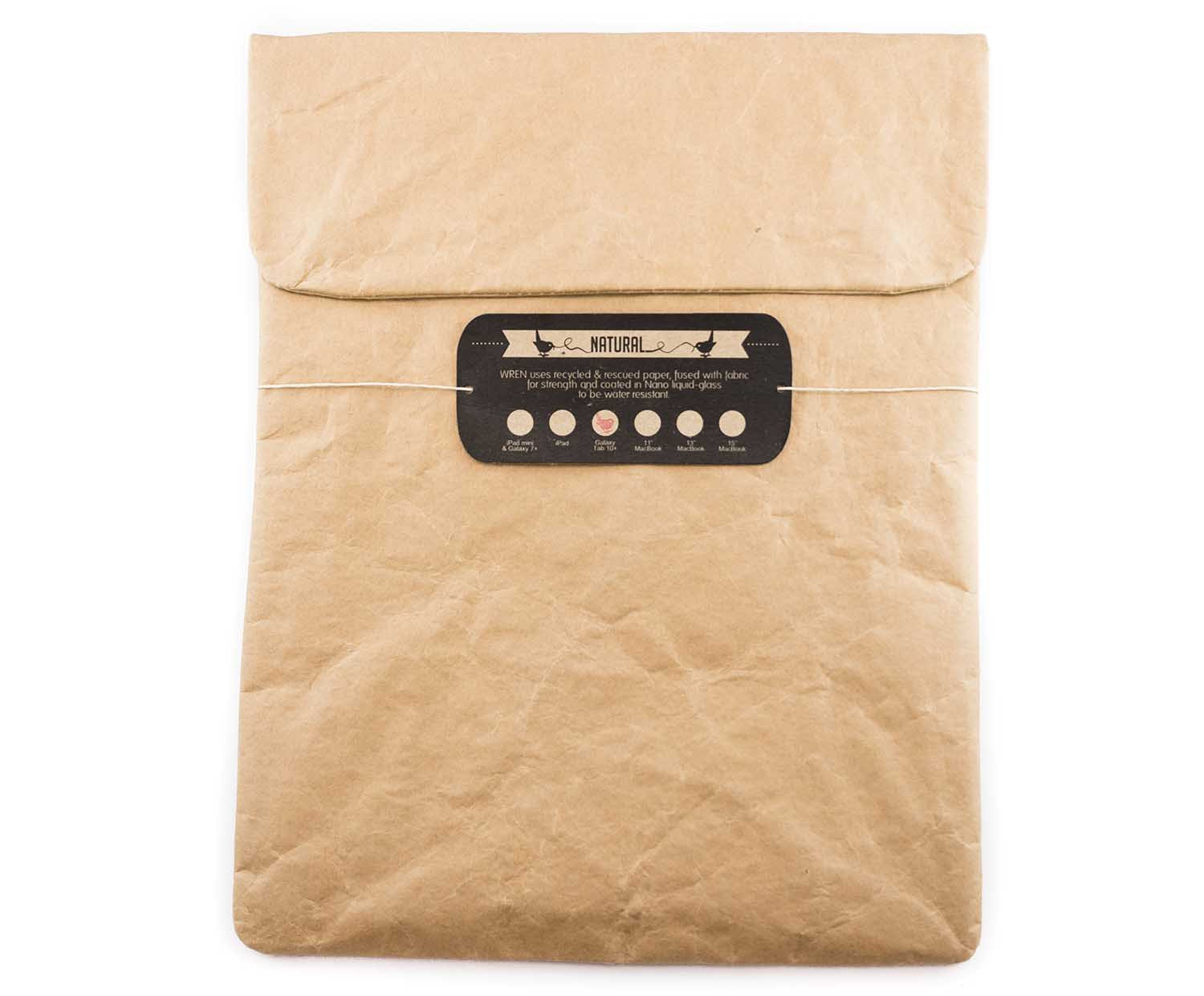 wren design zementsack sleeve natural f r ipad. Black Bedroom Furniture Sets. Home Design Ideas