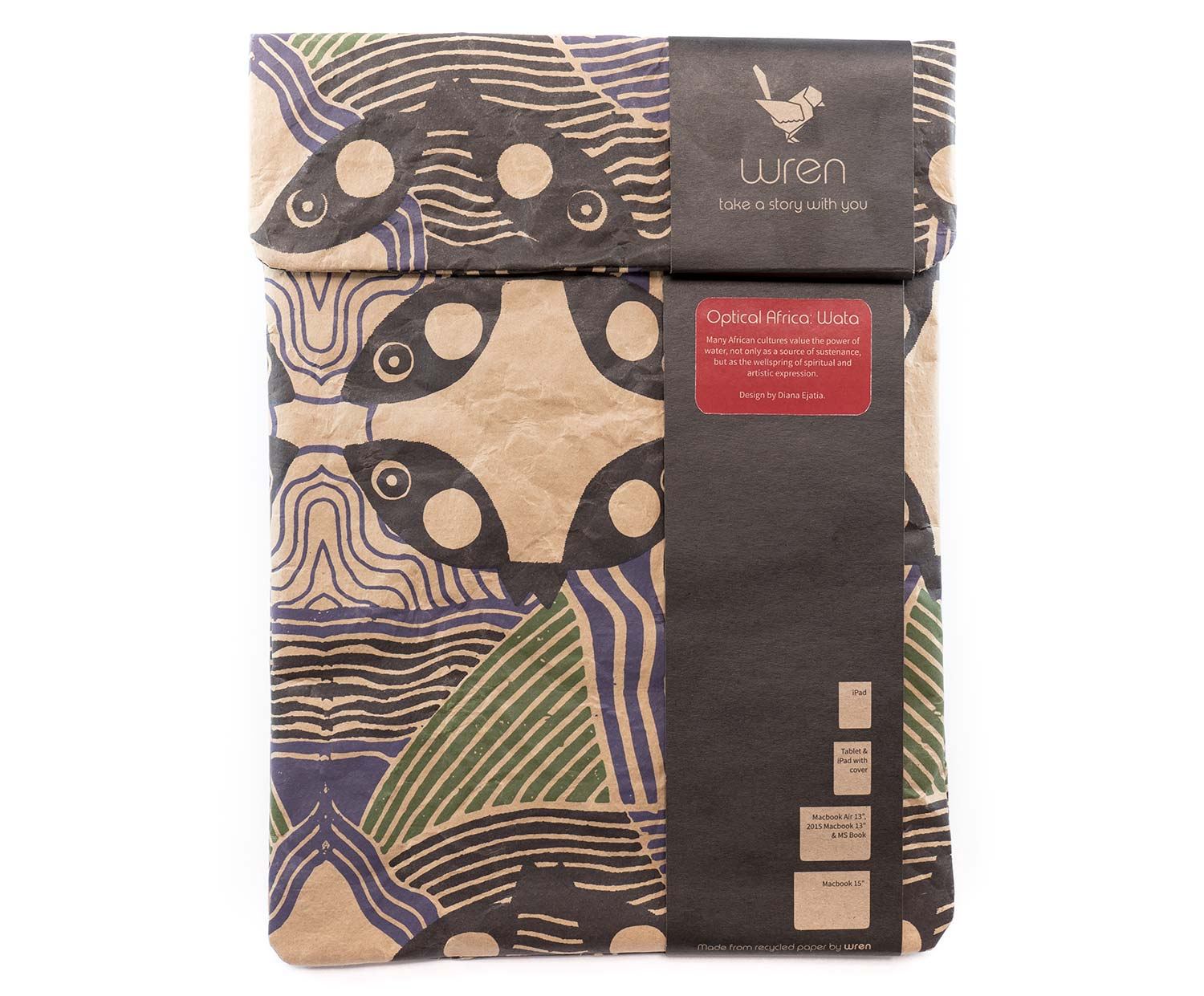 wren design zementsack sleeve optical africa f r ipad. Black Bedroom Furniture Sets. Home Design Ideas